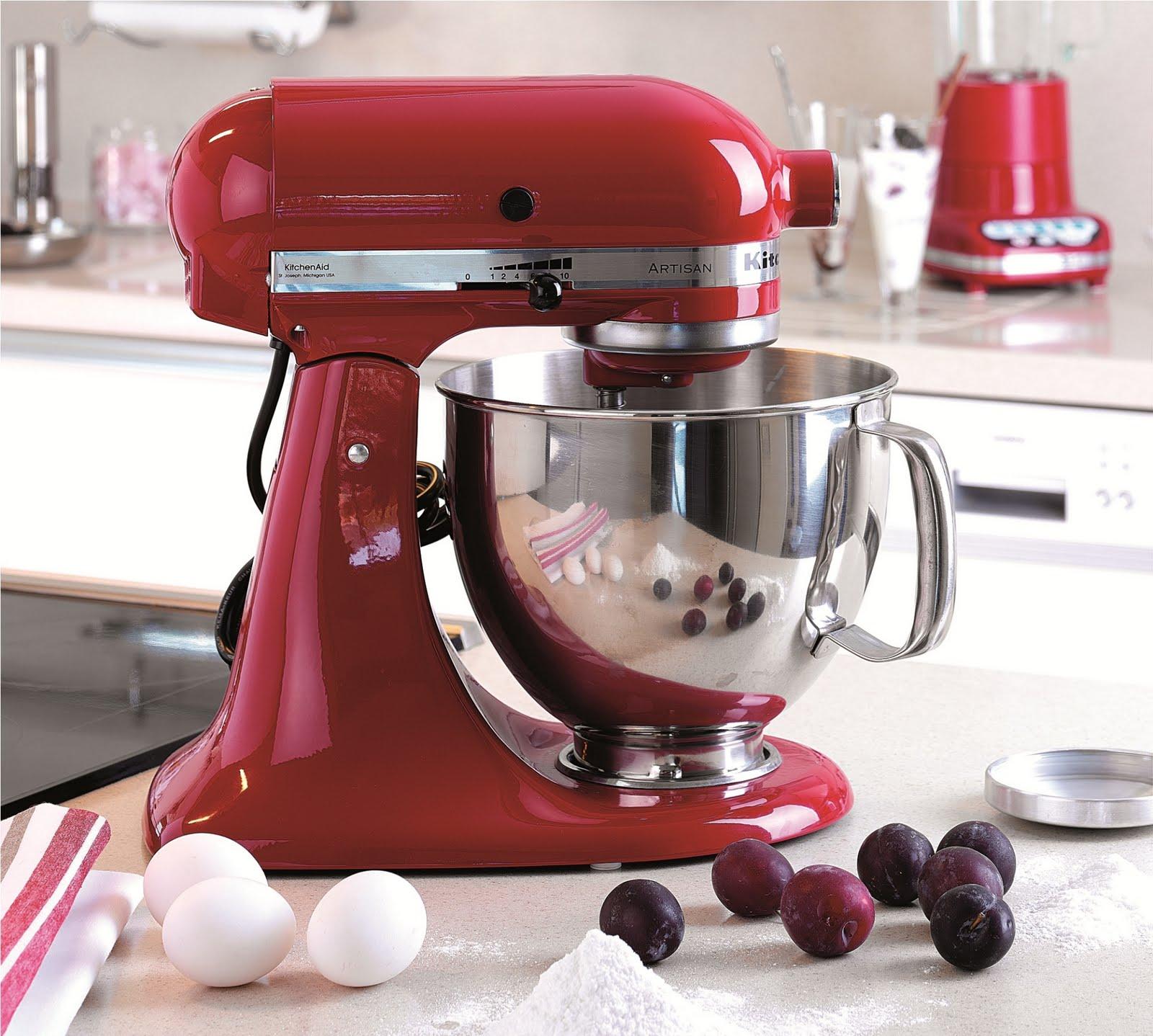 KitchenAid's Artisan Stand Mixer