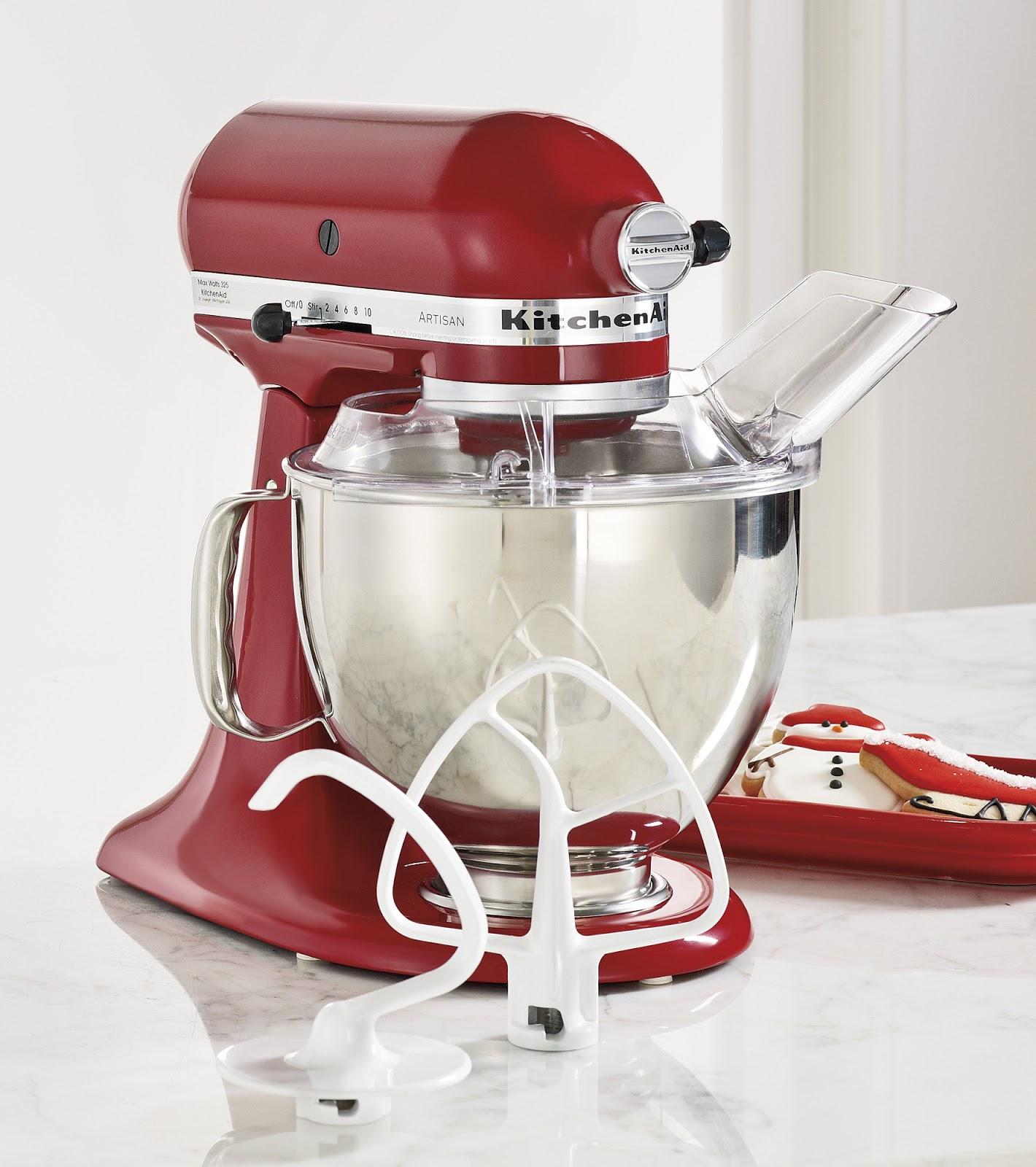 Kitchen Aid Mixer Whipping Egg Whites