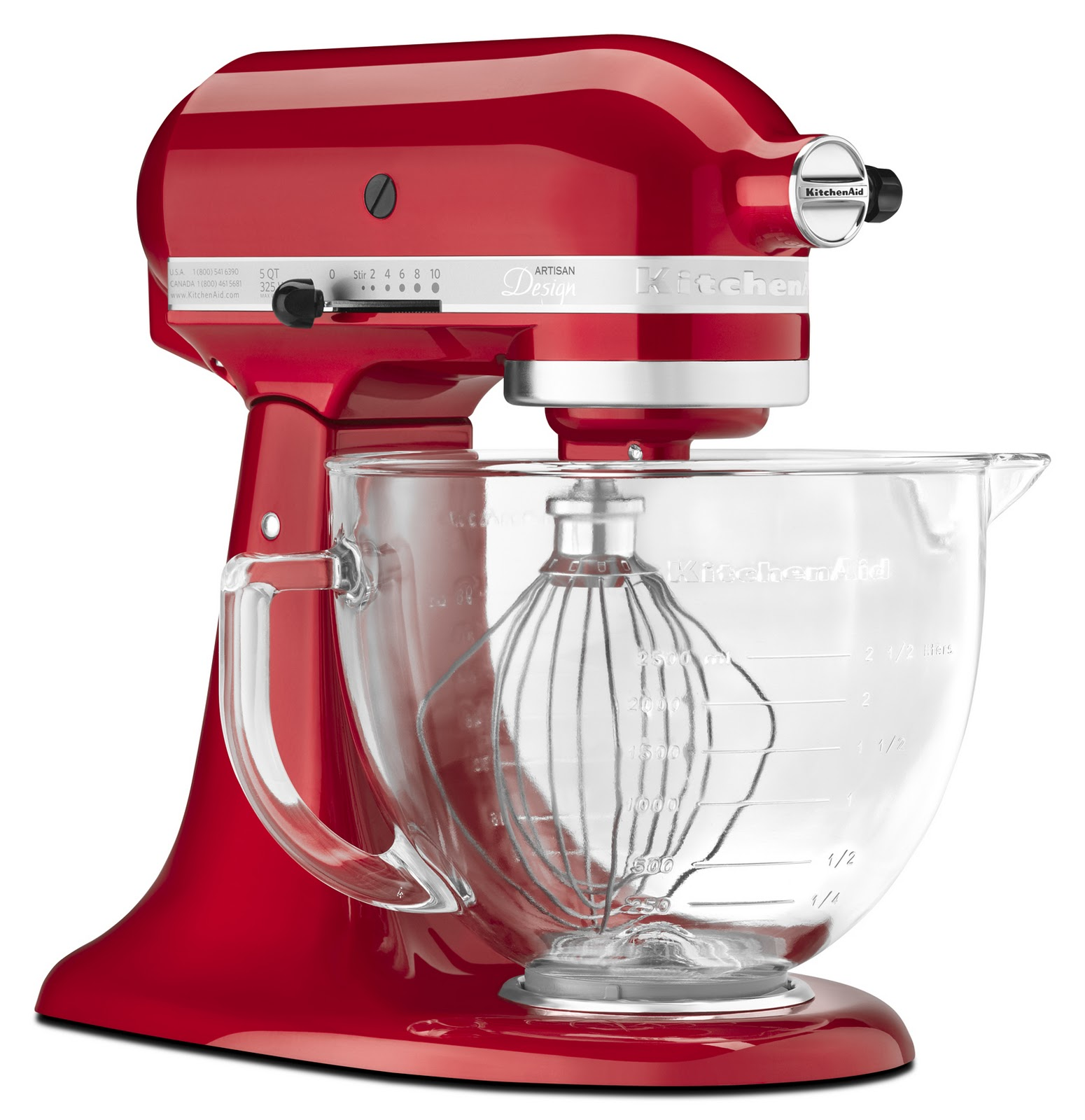 Mixer Kitchen: KitchenAid's Artisan Stand Mixer